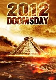 Picture of a Mayan temple with words 2012 DOOMSDAY